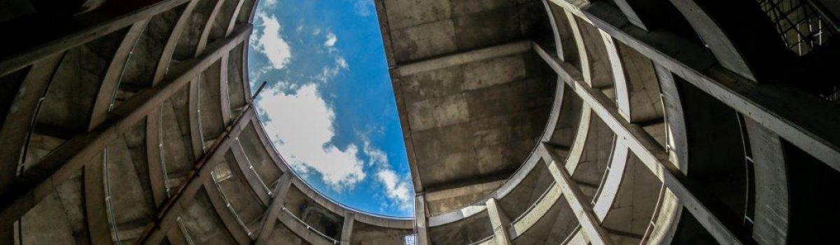 Atrium Parking Garage